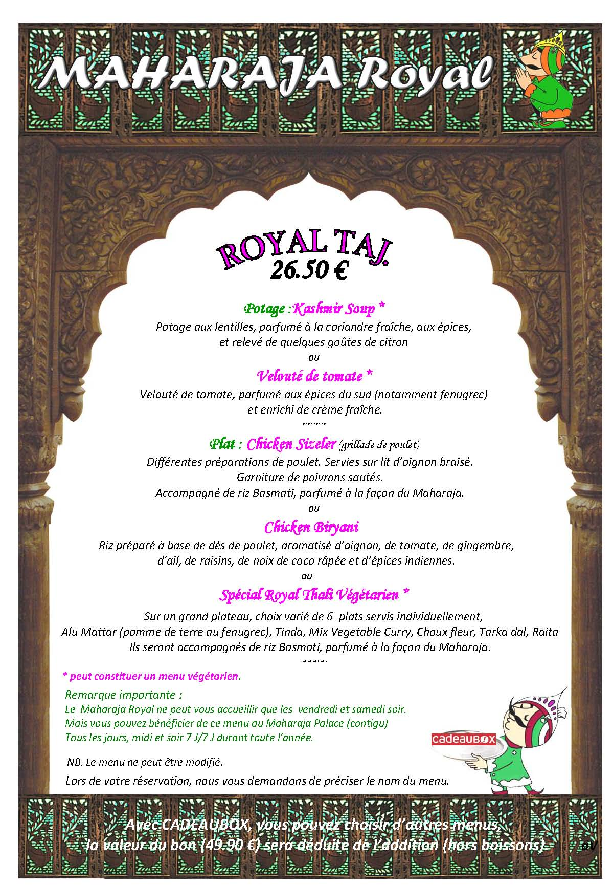 MENU ROYAL TAJ CADEAUBOX 2016 (1)